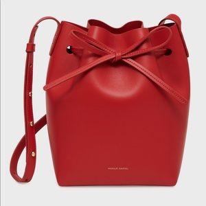 Mansur Gavriel Mini Bucket Bag in Flamma